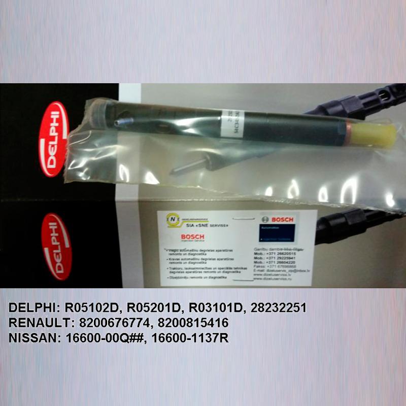 Injector  DELPHI R05102D